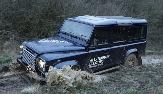 Land Rover Defender is nu 100% elektrisch