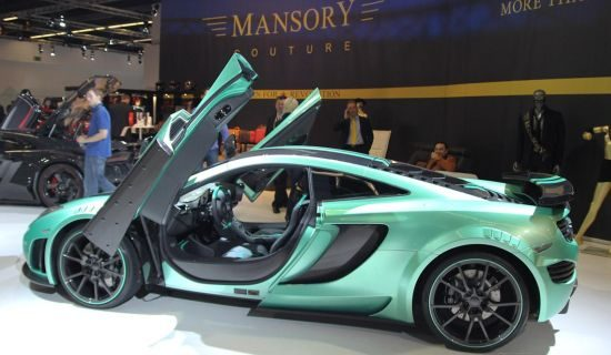 mansory mclaren mp4 12cf keeps it fresh. Black Bedroom Furniture Sets. Home Design Ideas