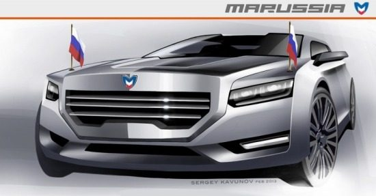 Marussia Presidential Limo render