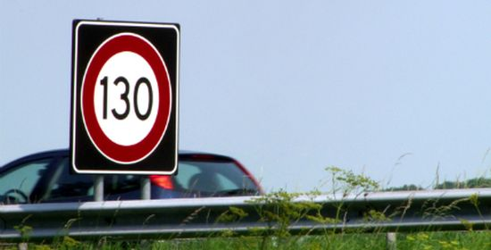 Maximumsnelheid 130 km/u