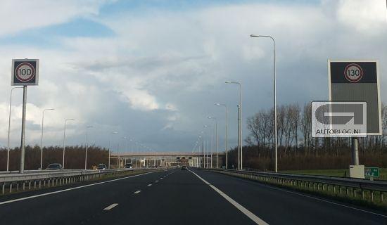 maximumsnelheid op de A9