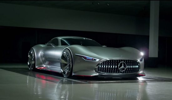 Making of Mercedes brute conceptracer