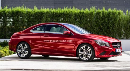 Mercedes CLA Coupy by Theophiluschin