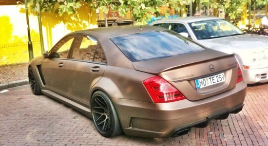 Mercedes S-Klasse met Black Series ambities