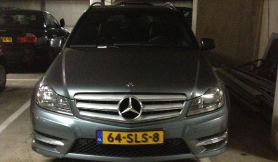 Mercedes met grootheidswaanzin