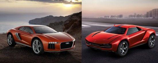 Audi vs Giugiaro