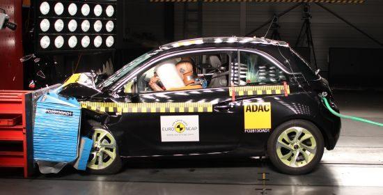 Opel Adam EuroNCAP crashtest