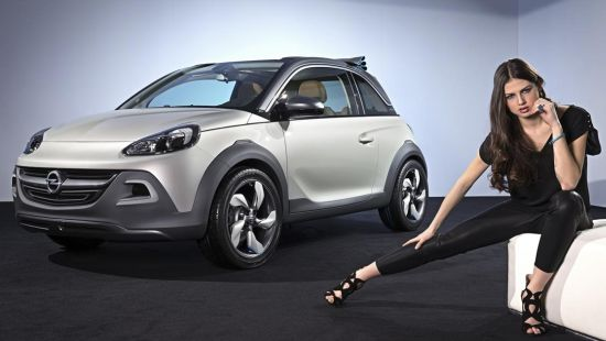 Opel Adam Rocks in productie