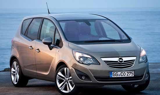 Opel Meriva is weer de meeste betrouwbare