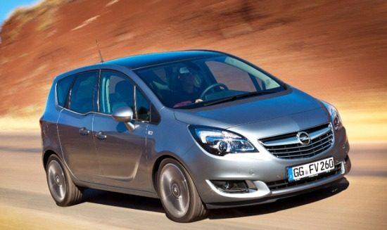 Opel Meriva feestlift