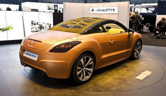 Peugeot RCZ View Top by Magna Steyr