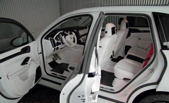 Porsche Cayenne Witte Droom