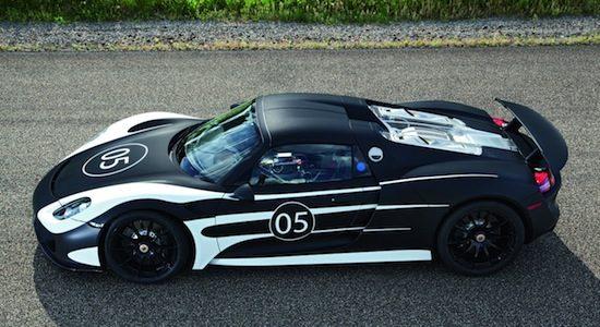Porsche: 'de 918 wordt sneller dan LaFerrari en McLaren P1'