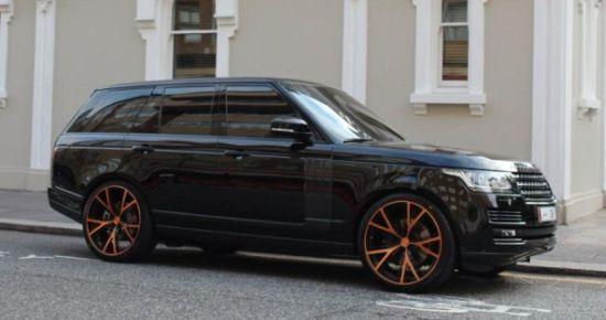 Range Rover Nasser Al-Thani