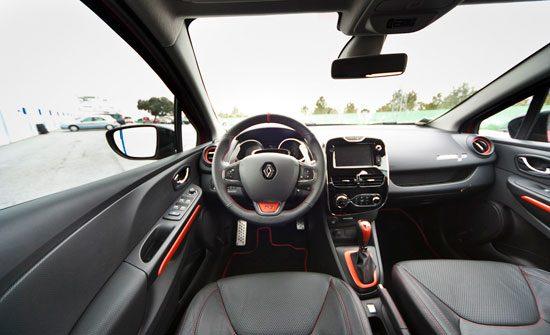 Renault Clio R.S. 200 EDC interieur
