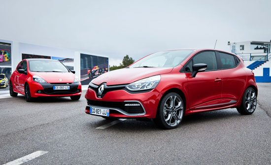 Renault Clio RS Phase III en Phase IV