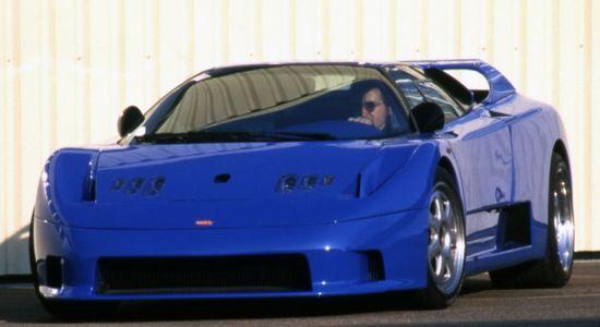 Rinspeed Bugatti Cyan