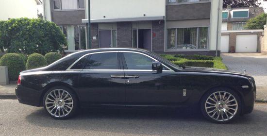 Rolls-Royce Ghost met Mansory velgen