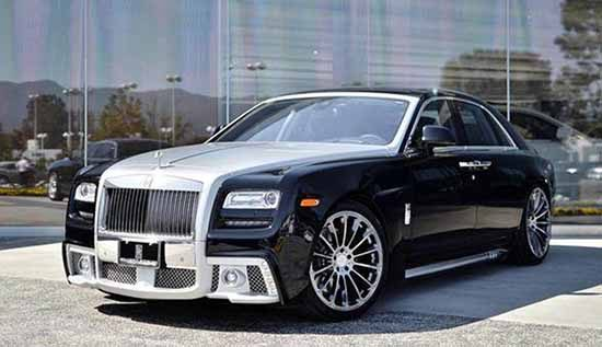 Rolls-Royce met Wald Black Bison-kit