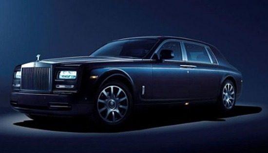 Rolls-Royce Phantom Celestial concept