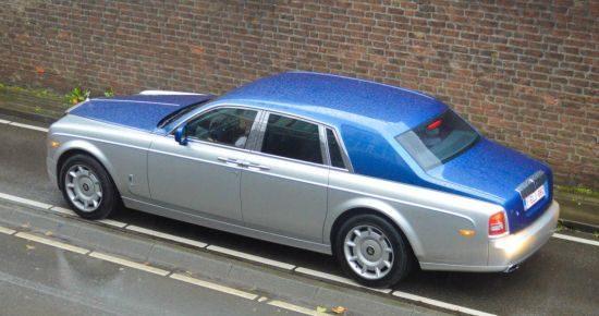 Rolls-Royce Phantom Series II two-tone gespot