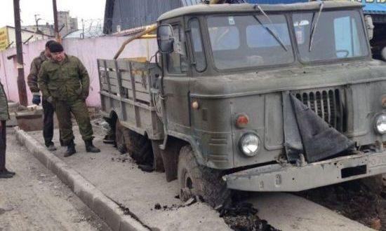 Russische vrachtwagen