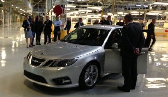 Pre-productie Saab 9-3 NEVS