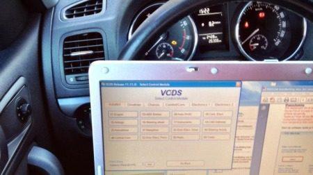 Skoda VCDS-software