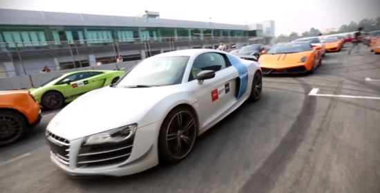 Super Car Club China Zhuhai International Circuit