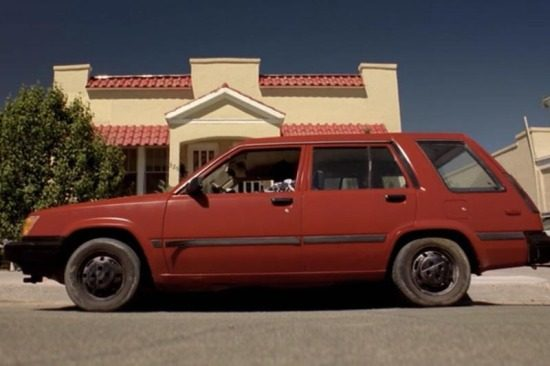 Toyota Tercel. Bitch.
