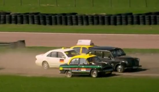 Top Gear S20E02 taxi race