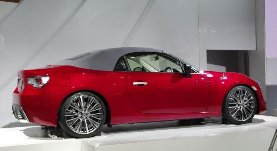 Toyota FT-86 Open Concept @ Tokyo 2013