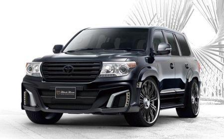 Toyota Land Cruiser V8 Black Bison