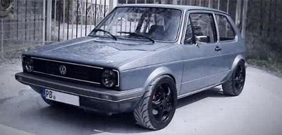 VW Golf Mk1 Boba Motoring