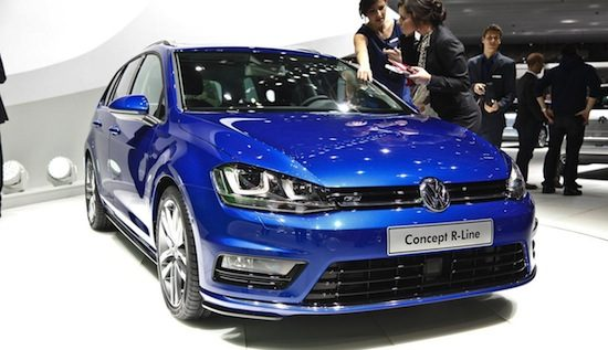 Volkswagen Golf Estate Concept R-Line