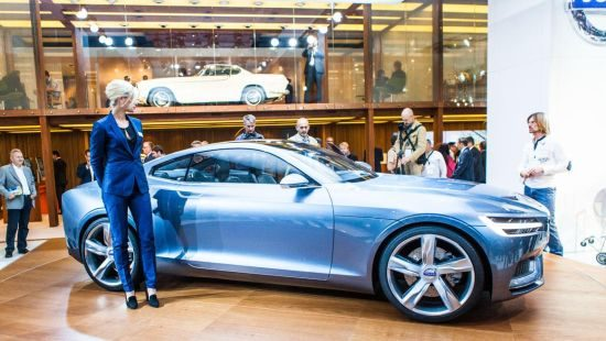 Volvo Concept Coupé @ IAA 2013