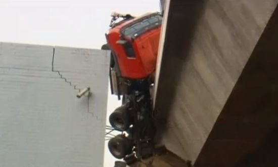Vrachtwagen crash Australië