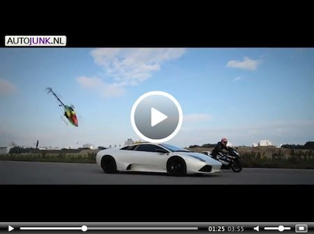 Video: Crash Lamborghini Murciélago