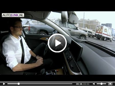 Video: Audi CES 2013: Piloted Driving -Traffic Assist