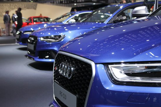 RS Q3, RS6, RS7