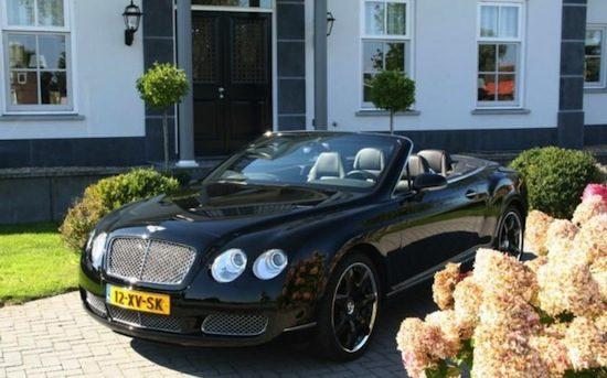 Gordons Bentley Continental Gtc Staat W 233 233 R Te Koop