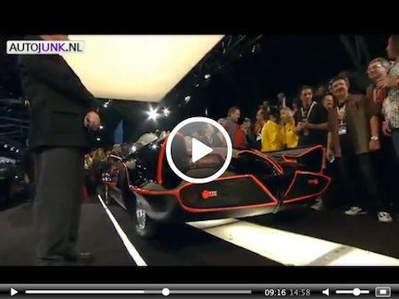 Video: Veiling originele Batmobile