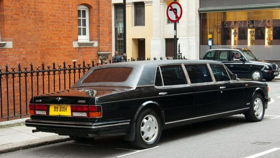 Bentley Turbo R Jankel Limo