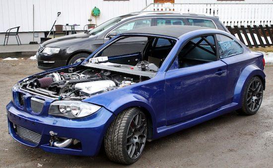 BMW 1 Serie Coupé krijgt 800 pk aangemeten