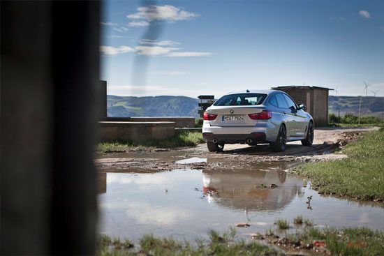 De moeilijkste kant van de BMW 3 GT