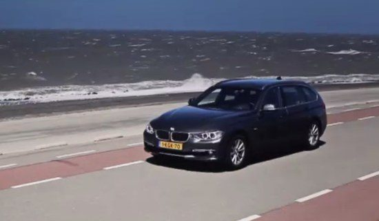 BMW 320d EDE at Sea