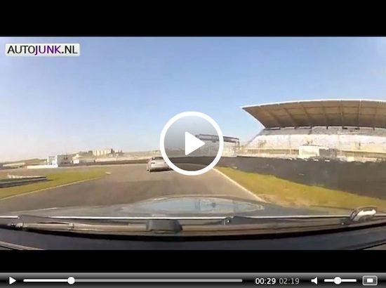Niki Terpstra met M3 over Zandvoort