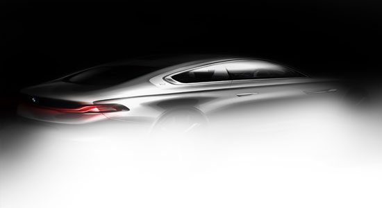 BMW Gran Lusso Coupe by Pininfarina teaser