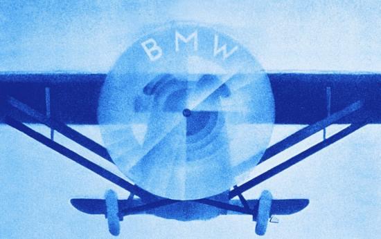 BMW vliegtuig