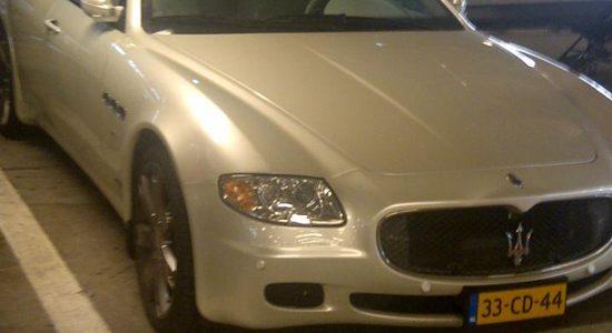 CD Maserati Quattroporte